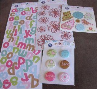 Ki Memories Enchanting Sticker Pack 152pcs BIN1 9