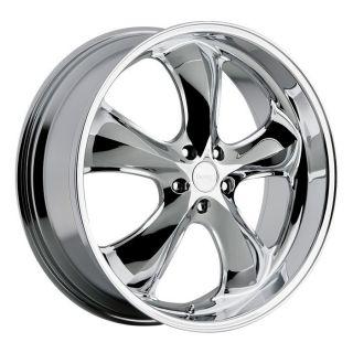 22 inch Incubus Shylock Chrome Wheels Rims 5x150 35
