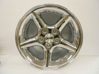 1999 2006 Jeep Wrangler Factory Polished Aluminum 15 x 8 Wheel Rim New