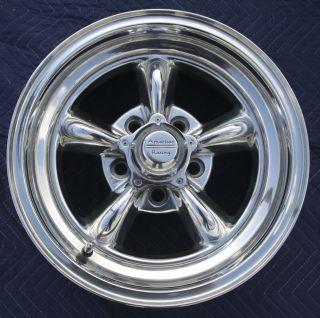 American Racing Torque Thrust II Polished Aluminum Wheels