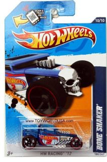 2012 Hot Wheels HW Racing 180 Bone Shaker