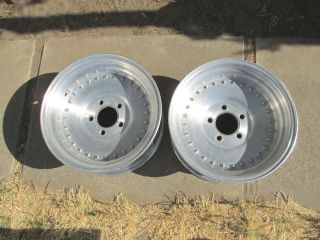 15x7 Center Line Auto Drag Wheels Rims Rat Rod Race 15 Autodrag Chevy