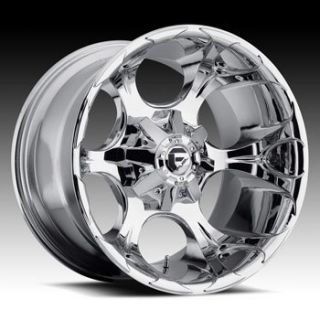 20x9 MHT Fuel Dune 8x180 ET20 Chrome Wheels 4 New Rims