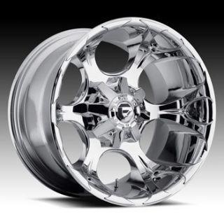 20x9 MHT Fuel Dune 8x180 ET20 Chrome Wheels 4 New Rims