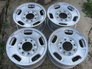 Lug 17 Chevy GMC Truck Steel Wheel Rims