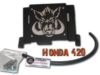 Honda Rancher 420 07 Up Foreman 500 2012 Radiator Relocation Kit
