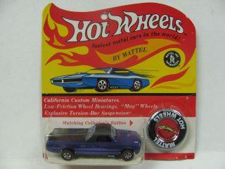Hot Wheels Redline Custom Fleetside Purple BP
