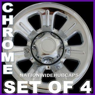 Wheel Skins Hub Caps Rim Covers 7 Spoke 5LUG Steel Wheels