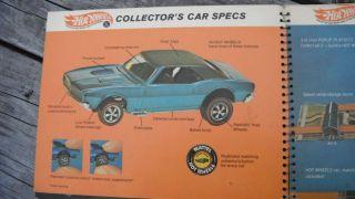 Vintage 1968 Redline Hot Wheeles Salesman Sample Book