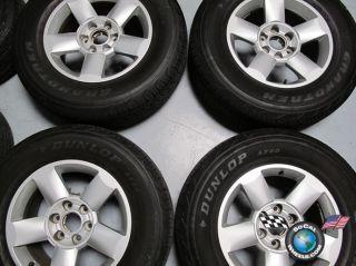 Titan Armada Factory 18 Wheels Tires Rims 62438 265 70 18