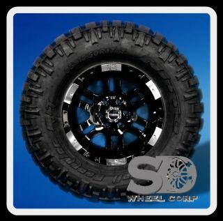 17 Moto 951 Black 35x12 50x17 Nitto Trail Grappler MT