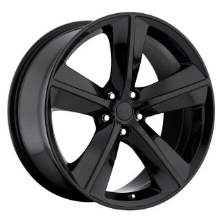 20 Gloss Black Challenger SRT8 Wheels Fit Dodge Charger Magnum