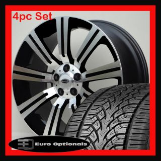 22 Wheels and Tires Fits Range Rover Sport LR3 HSE Stormer Manchester