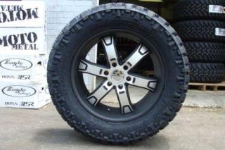 KMC XD Brodie Black Machine 20 Nitto Trail 35x12 50 20