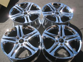 19 BMW Chrome Wheels Tires Z7 525 528 535 545 640 645 650 745 750 760