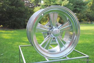 15 x 7 Rocket Strike Hot Rod Mag Chevy Ford Wheels