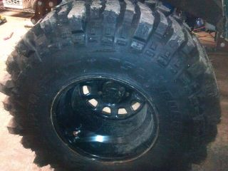New 4 TSL Bogger Super Swamper 35 x 16 x 15 with Pro Comp Rims
