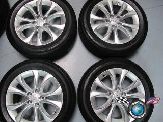 Genesis Factory 17 Wheels Tires Rims Dunlop 225 55 17 7080