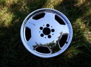 AMG MERCEDES 17 OEM wheel rim CHROME E320 C36 C43 SL500 E55 1995 1996