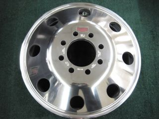Eagle Alloy Aluminum Truck Dually WHEEL RIM 19 5x6 8 Bolts 0589 9695