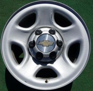 Chevy GMC 1500 16 Steel Painted 6 Lug Wheel 04 05