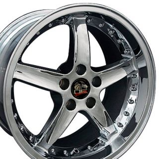 18 Rim Fits Mustang® Cobra Wheel Chrome 18x10