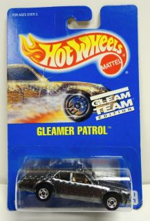 1991 Hot Wheels Blue Card Gleam Team 189 Gleamer Patrol Mint MOC