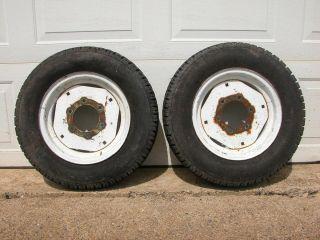 Kubota L Series L2550 14 Front Wheel Rim Tire P185 75 R14 Free