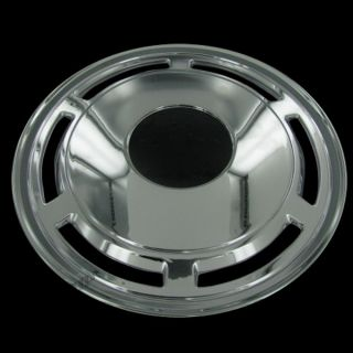 Our hubcaps utilize a patented steel retention clip design for better