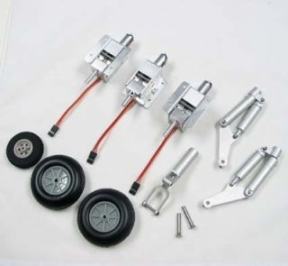 Electric Retracts Full Set with Struts Wheels MIG 17 MIG 15