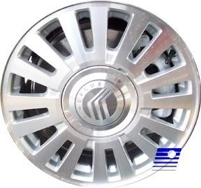 06 07 08 Mercury Grand Marquis Factory 16 Spoke Painted Silver 16x7