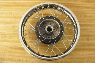 Suzuki JR50 Jr 50 Brand New Rear Wheel Rim Hub Complete