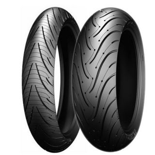 Michelin Pilot Road 3 Front Rear Tires 120 70ZR 17 190 55ZR 17