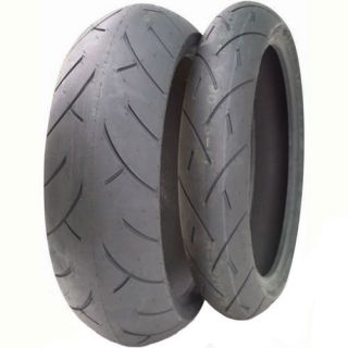 New Full Bore M 1 Street Tire Set 120 70 17 190 50 17