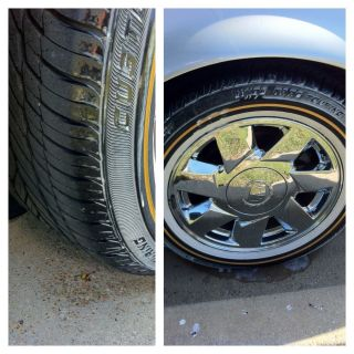 Cadillac Wheels and Vogue Tires