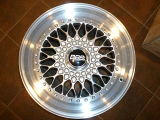 911 964 BBS RS wheel 17x9 5 et52 RS258 NOS three piece rim new in box