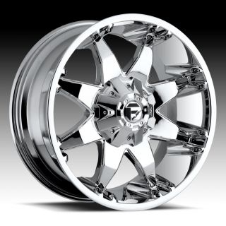 18x9 Fuel Octane Chrome Wheel Rim 8x170 F250 F350 Excursion