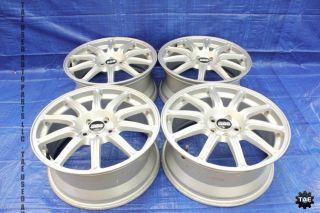 Impreza WRX STI Factory Silver BBs Wheels Rims 5x100 GD7 EJ257