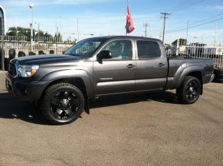 20 Black Rims Tires 6x139 Toyota Tacoma 265 50 20 Nitto Terra