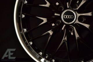 18 inch Audi A3 A4 A5 A6 A7 A8 Q5 Wheels Rims GT1 Gloss Black
