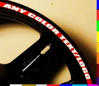 Rim Stripe Wheel Decal Tape Sticker Yamaha YZF R1 R6 R