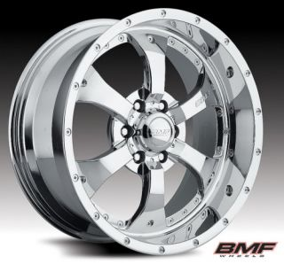 20 X 10 BMF NOVAKANE RIMS & 35X12.50X20 TOYO OPEN COUNTRY MT WHEELS