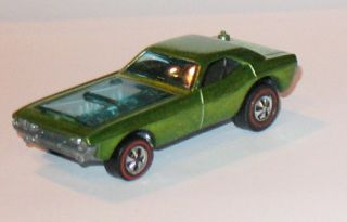1971 Hot Wheels REDLINE   BYE FOCAL   Light Green   HK   Near Mint w