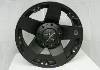 18 XD Rockstar Jeep Wrangler Wheels Rims 275 65 18 Nitto Terra