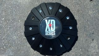 KMC XD Series Monster 778 XD778 Black Aftermarket Wheel center cap