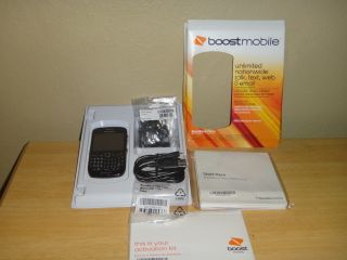 Blackberry Curve 8530 Black Boost Mobile Smartphone