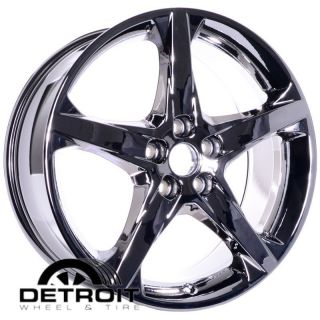 2012 Ford Focus 18 Chrome Wheels PVD Rims Exchange