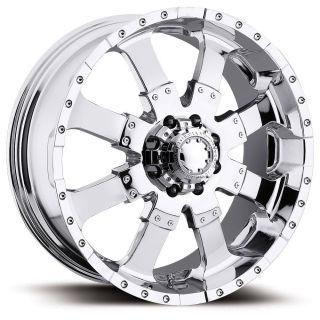 Ultra Wheel 223 Goliath 20x10 8x6 5 Chevy Dodge Chr 25