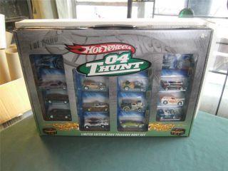 Hot Wheels Limited Edition 2004 Treasure Hunt Box Set Redline Club RLC