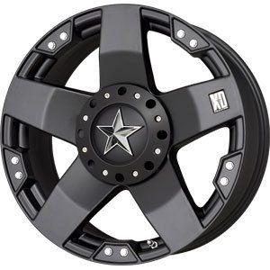 New 20x10 8x165 1 XD Rock Star Black Wheels Rims